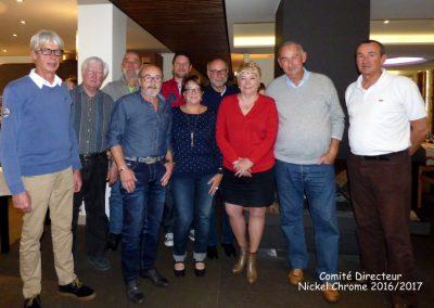 Le comité directeur de l'association Nickel-Chrome